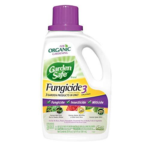 Garden Safe 510992 Fungicide3 Concentrate (HG-10411X) (20 fl oz), 20 oz - 1 Count