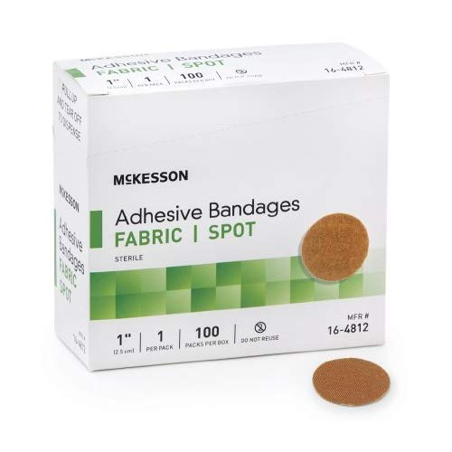 McKesson Medi Pak Performance Bandage 1'round 2 Boxes Of 100 count (2)