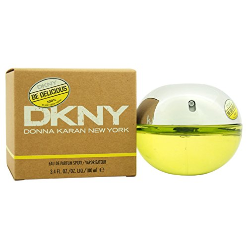 Dkny Be Delicious By Donna Karan For Women. Eau De Parfum Spray , Green , 3.4-Ounce Bottle