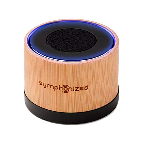 Symphonized NXT Premium Genuine One Piece Solid Hand Carved Bamboo Wood Bluetooth Portable Speaker. Compatible with All Bluetooth iOS Devices, All Android Devices and Mp3 Players