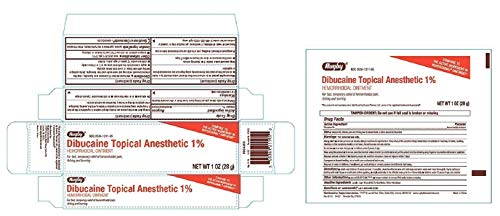 Rugby Dibucaine Topical Anesthetic Ointment 1% (3)