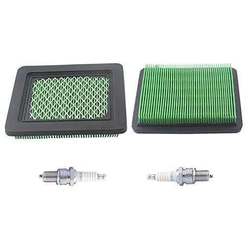 17211-ZS9-A02 Air Filter with BPR5ES Spark Plug Compatible with Honda EB2500C EB3000C EM3000C EU3000is Model Generators (Pack of 2)