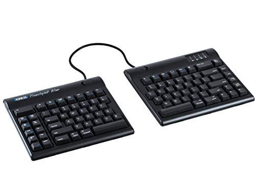 KINESIS Freestyle2 Blue Wireless Ergonomic Keyboard for Mac (9\' Standard Separation)