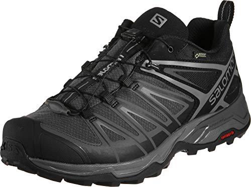 Salomon Men's X Ultra 3 GTX Hiking Shoes, Black/Magnet/Quiet Shade, 11.5 Wide