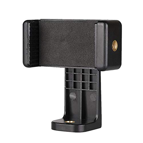FURUN Phone Tripod Mount Cell Phone Holder Clip Clamp Adapter Rotatable Vertical Horizontal Adjustable Bracket Universal for All 4.7-6' Phone Selfie Stick,Monopod,Camera Stand