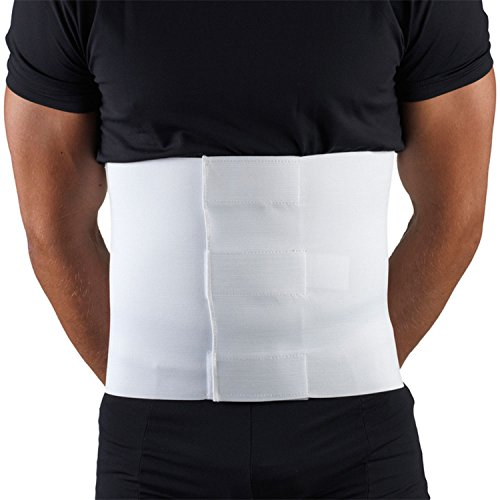 OTC Abdominal Binder, 10-Inch Chest and Rib Panel, Elastic, Large