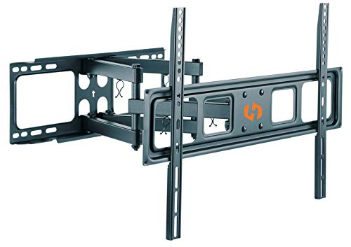 Husky Mount Full Motion TV Wall Mount Bracket Fits Most 32'-70' LED LCD Flat Screen Up to 88 lbs