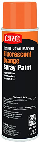Upside Down Marking Paints - Fluorescent Orange, 17 Wt Oz