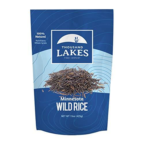 Thousand Lakes Minnesota Grown Wild Rice - 15 ounces | 100% Wild Rice | All Natural