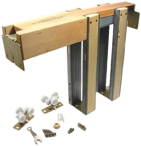 Johnson Hardware 153068PF 153068 Commercial Grade Pocket Door Frame (36' x 80'), Wood