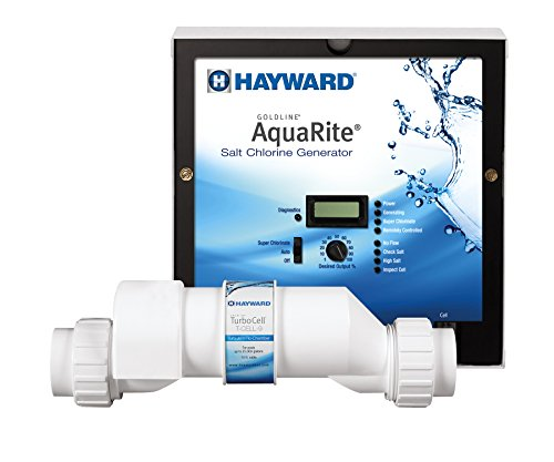 Hayward W3AQR9 AquaRite Electronic Salt Chlorination System for In-Ground Pools, 25,000-Gallon Cell