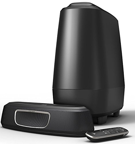 Polk Audio MagniFi Mini Home Theater Surround Sound Bar | Works with 4K and HD TVs | Compact System with Big Sound | Wireless Subwoofer Included
