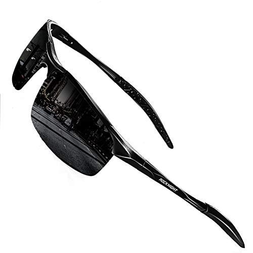 ROCKNIGHT Driving Polarized Sunglasses Men UV Protection HD Golf Fishing Sports