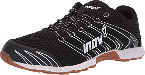 Inov-8 Unisex F-Lite G 230 V2 Cross Training Shoes, Black/Gum, 10 US Men