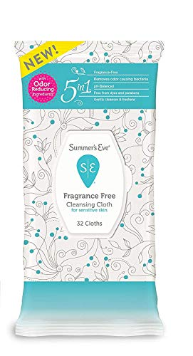 Summer's Eve Summer's Eve Cleansing Cloths Fragrance Free Ph-balanced - 32 Ea, 32count