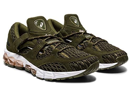 ASICS Women's Gel-Tarther 180 Running Shoes, 7.5, SMOG Green/SMOG Green