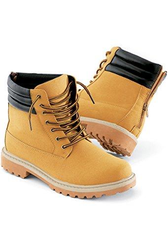 Urban Groove Hip Hop Work Boot Unisex Dance Boot Camel 7.5AM