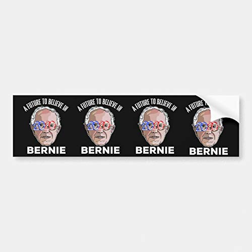 SLobyy Vinyl Bumper Sticker, Label Decal Sticker, Bernie Sanders US Election Campaign Bumper Sticker, Funny Vinyl Stickers Waterproof Decal for Car, Bumper, Motorboat, Laptop
