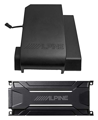 Alpine 10' Weather Proof Subwoofer+Amp For 2011-2018 Jeep Wrangler JK 4-Door