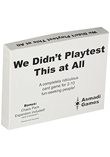 We Didn't Playtest This at All Card Game Standard