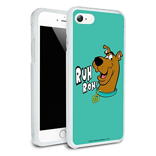 Scooby-Doo Ruh Roh Protective Slim Fit Hybrid Rubber Bumper Case for Apple iPhone 7 and 7 Plus