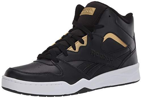 Reebok mens Royal Bb4500 Hi2 Sneaker, Black/White/Gold Metallic, 10.5 US