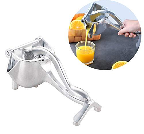 Sibosen Manual Fruit Juicer Lemon Squeezer Citrus Press, Detachable Alloy and Press Fruit Juicer Lime Squeezer