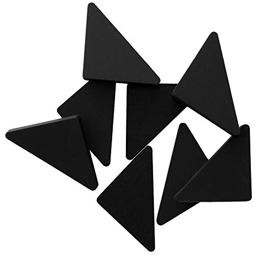 Thirteen Chefs Cutting Board Feet, Non Slip Silicone Pads, Set of 8, Black