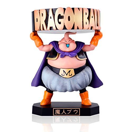 OOKVIVI Dragon Ball Z Majin Buu Ashtray Anime Figures Toys Model Fat Buu Action Figurine Cute DBZ Collectible PVC Toys Doll Gift
