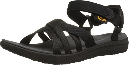 Teva Sanborn Sandal Black 8 B (M)