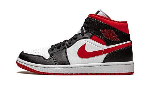 Jordan Mens Air 1 Mid 554724 122 Metallic Red - Size 9