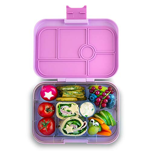 Yumbox Original Leakproof Bento Lunch Box Container for Kids (Lila Purple)