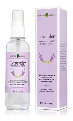 Lavender Linen and Room Spray, Made with Pure Lavender Essential Oil, Natural Pillow Spray, Relaxing Home Fragrance and Bathroom Spray