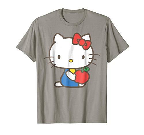 Hello Kitty Retro Apple Design Tee Shirt