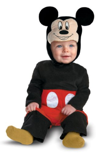 Baby Boys' Mickey Mouse My First Disney Costume 12 Months Black