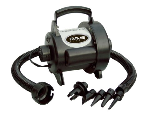RAVE Sports 01083 High Speed Inflator/Deflator, 3.0 psi, 48 CFM 120 VAC, with Adaptors