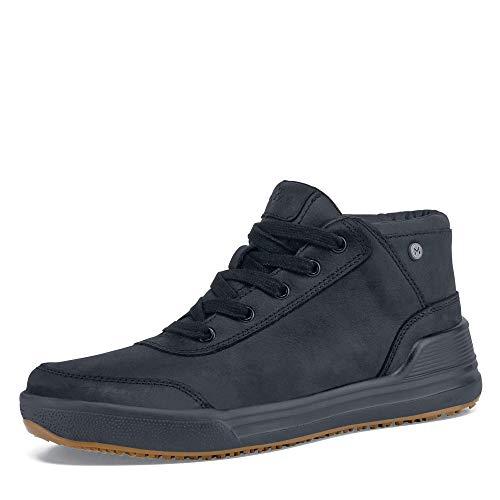 MOZO Men's Natural Sneaker, Black, 10.5 M US