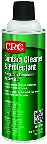CRC Contact Cleaner and Protectant, 10 oz Aerosol Can, Clear