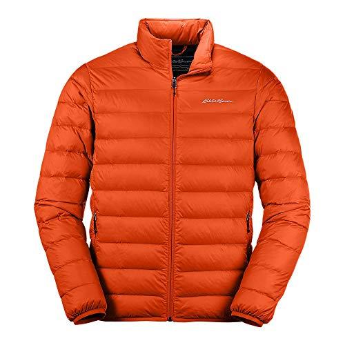Eddie Bauer Men's CirrusLite Down Jacket, Ochre Regular L