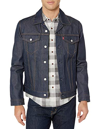 Levi's Men's The Trucker Jacket, Rigid Two, L