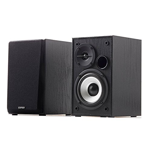 Edifier R980T 4' Active Bookshelf Speakers - 2.0 Computer Speaker - Powered Studio Monitor (Pair)