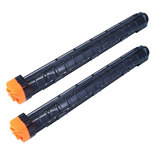OIMIO 12-Round Magazine, 2 Pack 12-Round Magazines Bullet Clips for Nerf Rival Black