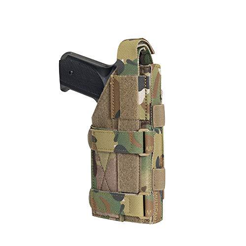EXCELLENT ELITE SPANKER Pistol Holster Universal Adjustable for M1911 G17 G18 G19 G26 G34 XD-45acp CZ P-10C(Multicam)