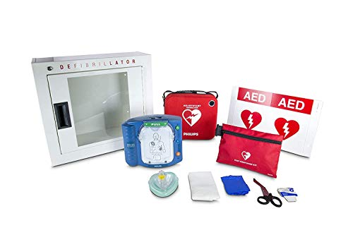 Philips HeartStart Ready Pack AED Defibrillator Business Package