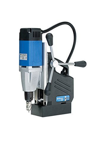 CS Unitec MABasic 200 Portable Magnetic Drill Press: Drills up to 1-3/8' Diameter, up to 6-1/3' Depth of Cut, 900W, Best Power to Weight Ratio, Electronic Safety Shutoff