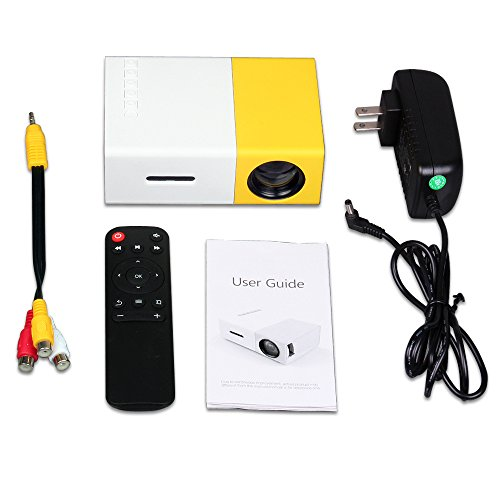 Portable Mini projectors LED Micro Projector 1080P Home Party Meeting Theater Projector(2020 Upgraded Version )