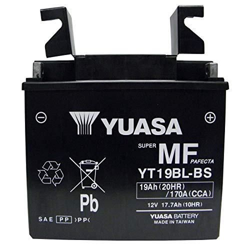 Yuasa (YUAM6219BL) YT19BL-BS Sealed Battery