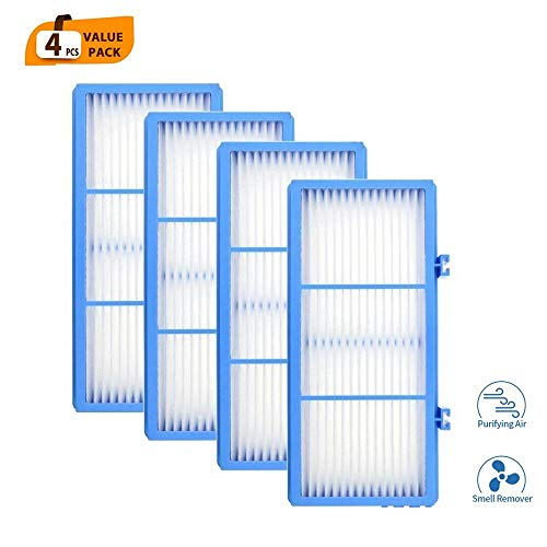 DerBlue 4pcs Replacement HEPA Filters for Holmes AER1 Type Total Air Filter,HAPF30AT for Purifier HAP242-NUC