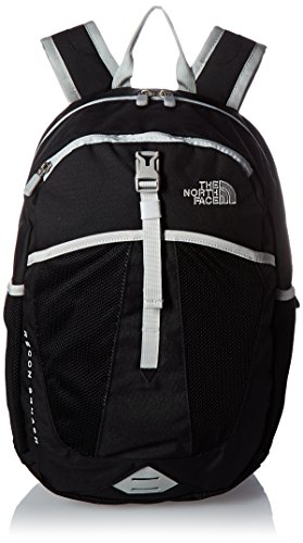 The North Face Recon Squash Backpack (Youth) Tnf Black/High Rise Grey One Size