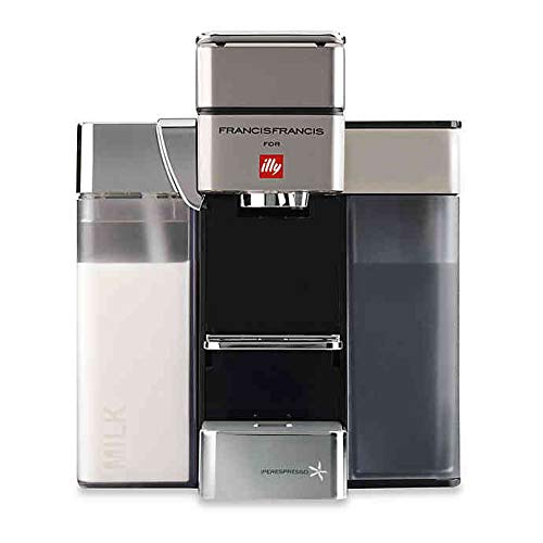 Francis Francis for Illy Y5 Milk Espresso and Coffee Machine,White